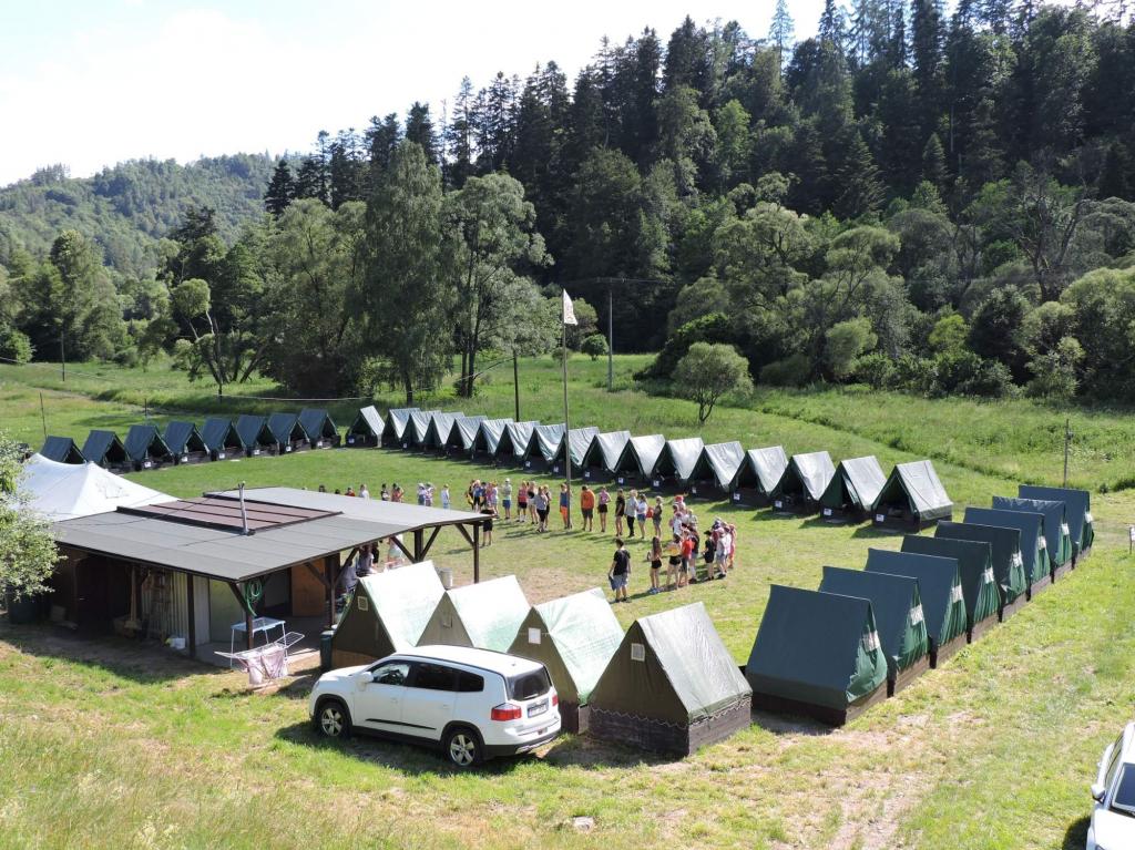 Pronájem stanové základny