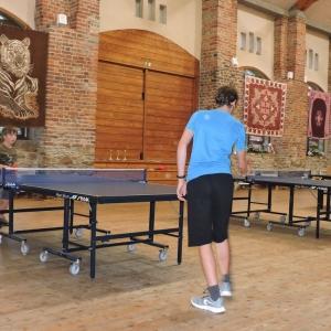 Turnaj ministrantů ve stolním tenise